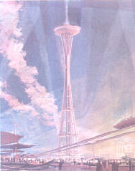 MrDonn.org - The 1962 Seattle World's Fair (handout, discussion questions, activities) WA State History Illustration